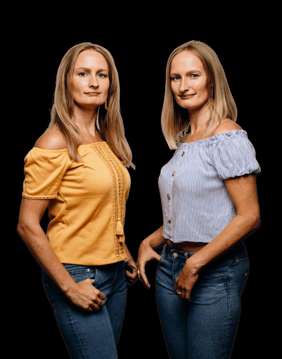 Nadine & Natalie van Double Your Brand